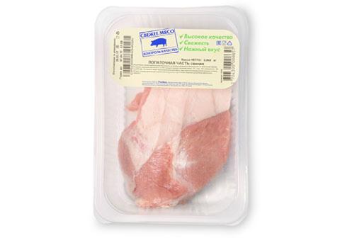 Лопаточная часть свиная охлажденная~1кг
