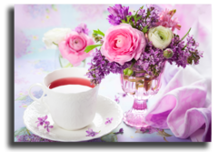 """Постер """"Цветочный аромат чая"""""""