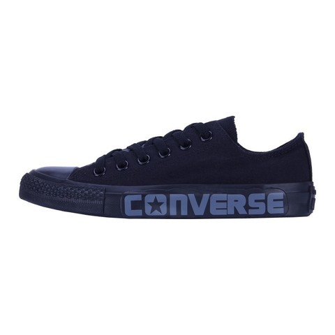 Кеды Converse Chuck Taylor All Star All Black с надписью