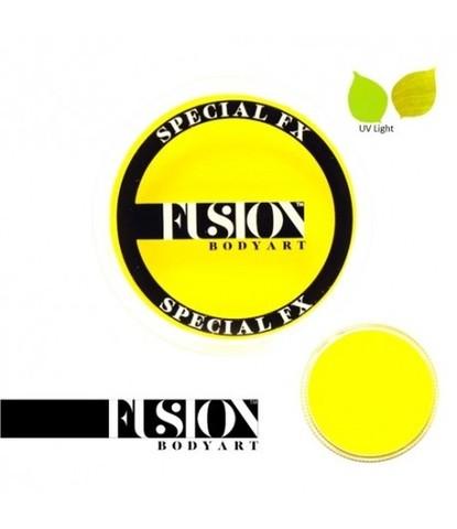 Аквагрим Fusion неоновый желтый 32 гр
