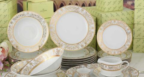 Сервиз столовый 24 предметов Сабина Leander