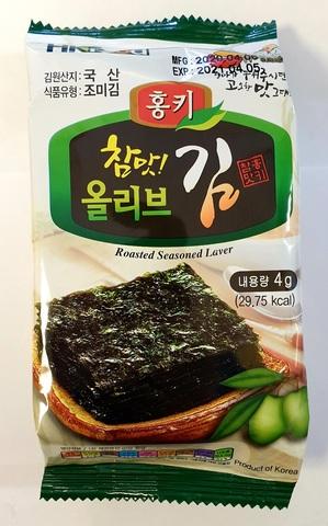Сушеная морская капуста, оливковое масло, 4 гр. (72 шт.)