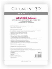 Коллагеновый аппликатор для лица и тела BioComfort ANTI WRINKLE с плацентолью, Medical Collagene 3D