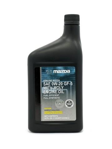 MAZDA FS 0W20 SN GF-5 Масло моторное синт. с молибденом (пластик/США)