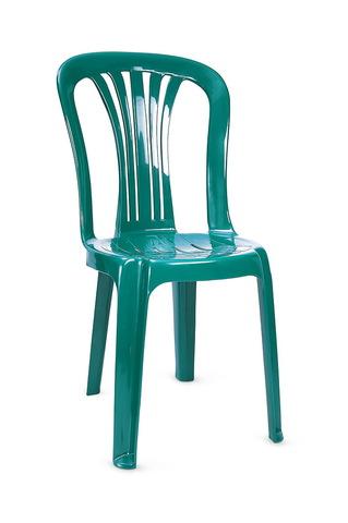 Стул пластиковый зеленый