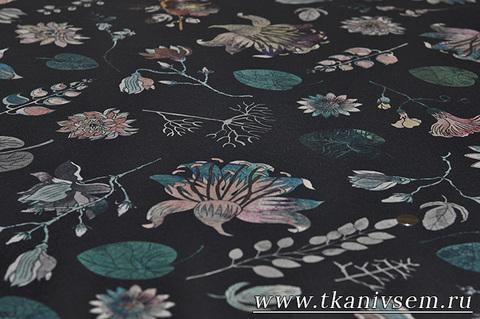 Крепдешин-принт, линия Versace  03-45-01094