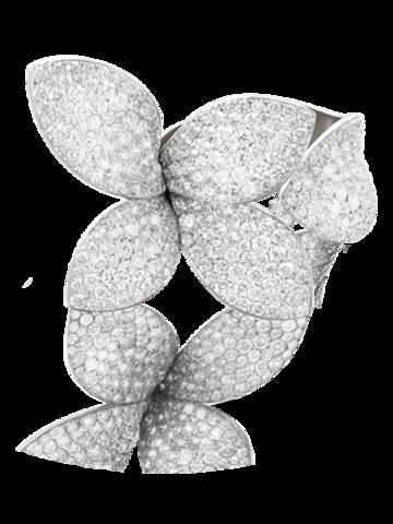 Кольцо Garden из серебра с цирконами