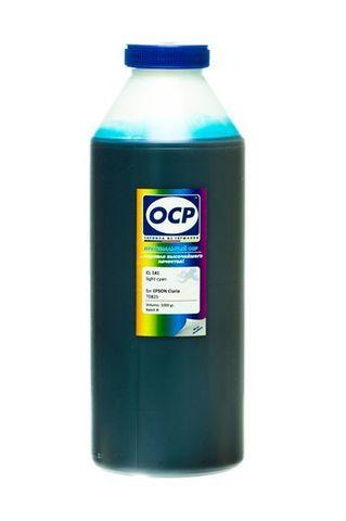Чернила OCP LC 141 Light Cyan для Epson T50/T59/P50/TX800/TX700/TX650/RX610, 1000 мл