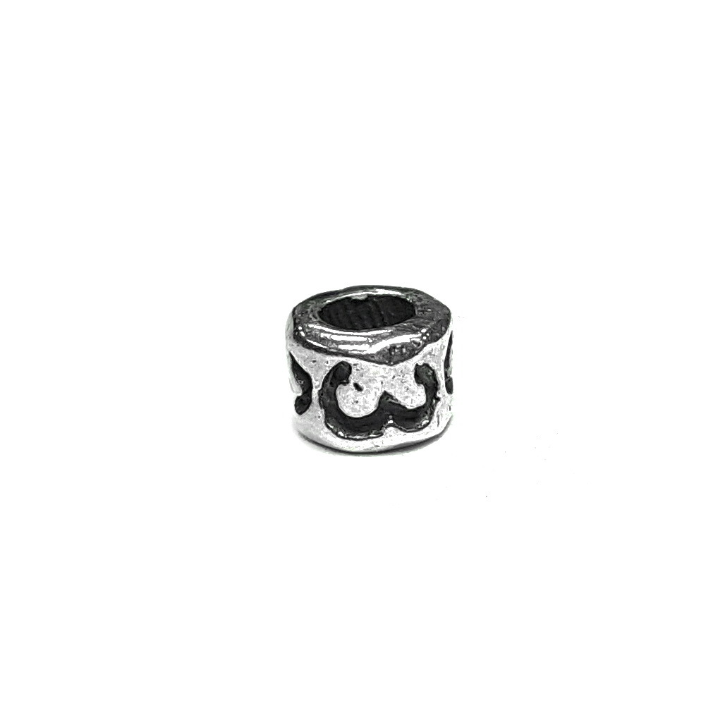 Number 3 charm, three, Sterling Silver