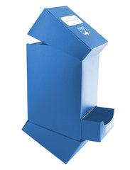 Ultimate Guard - Синяя коробочка на 100 карт с отделением для кубиков