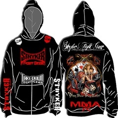 T-Shirt - MMA Fighter Stryker Hoodie BJJ Jacket