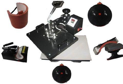 Комбинированный термопресс Bulros K-6 универсальный 6 в 1