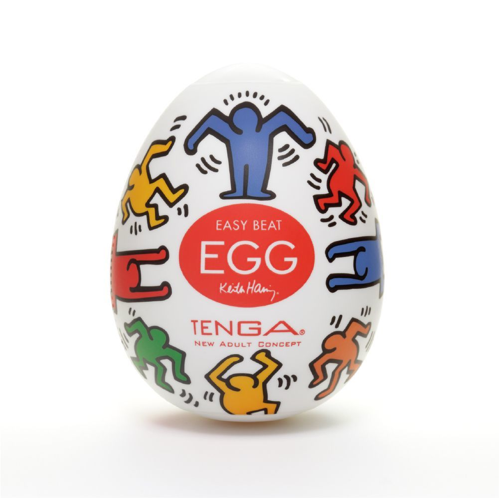 Мастурбаторы: Мастурбатор-яйцо Keith Haring EGG DANCE