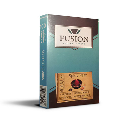 Табак Fusion Medium Spice Pear 100 г