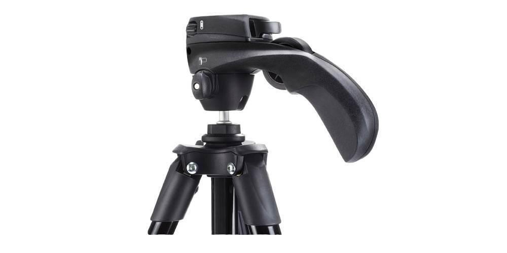 Штатив с фото- и видеоголовкой для фотокамеры Manfrotto Compact Action крупно