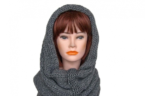 Снуд 0159 SNUDY LARGE YARN ART-1271 COL-9500