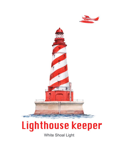 Постер Lighthouse keeper