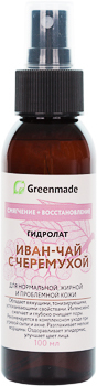 Гидролат ИВАН-ЧАЙ с ЧЕРЁМУХОЙ Greenmade