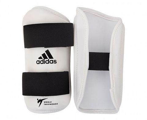 Защита предплечья для тхэквондо WT Forearm Protector белая