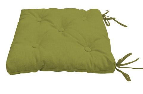 Подушка на стул Адриана темно-зеленый