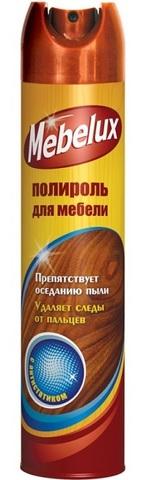 Полироль MEБЕЛЮКС 300см3 с антистатиком д/мебели