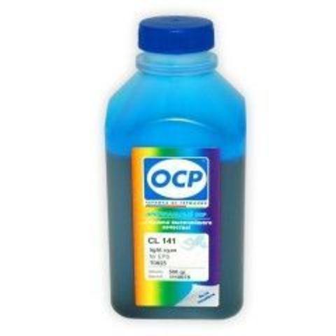 Чернила OCP LC 141 Light Cyan для Epson T50/T59/P50/TX800/TX700/TX650/RX610, 500 мл