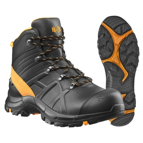 Haix Stiefel Black Eagle Safety 54 mid schwarz orange
