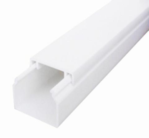 ECO 15Х10 Миниканал 15Х10 мм. 1шт=1м. Цвет Белый. Ecoplast (ЭКОПЛАСТ). 77200