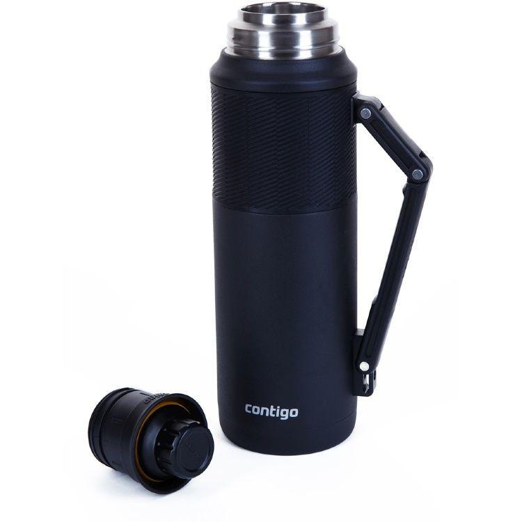 Термос Сontigo Thermal Bottle (1,2 литра), черный