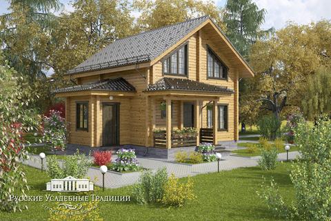 """Проект двухэтажного дома """"Рени"""" 140 кв.м."""