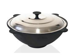4107 FISSMAN Сковорода ВОК чугунная 39 см