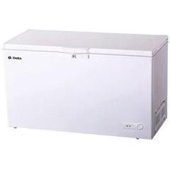 Ларь морозильный 423 л низкотемпературный DELTA D-423НКF, класс A, 3 корзины