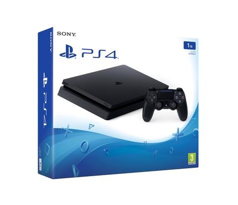 Игровая консоль Sony PlayStation 4 Slim, 1Тб, черная