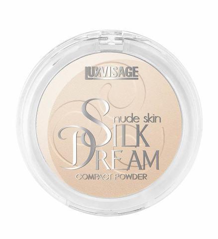 LuxVisage Silk Dream nude skin Пудра компактная тон 2 (Светлый Беж)