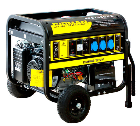 Бензиновый генератор Firman FPG7800E2