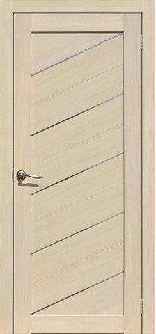 Дверь APOLLO DOORS F15, стекло матовое, цвет лиственница светлая, остекленная