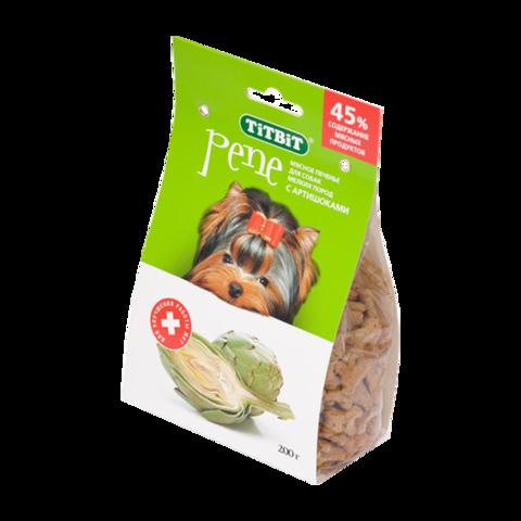 Titbit Pene Лакомство для собак мелких пород печенье с артишоками
