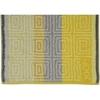 Полотенце 50x100 Cawo-JOOP! Imperial Striped Tile 1640 желтое