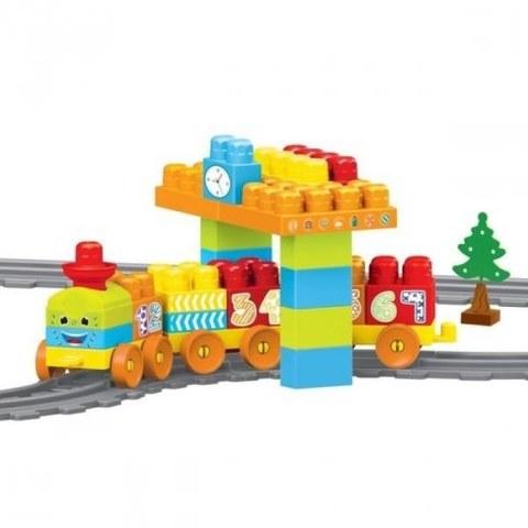 Моя первая железная дорога Dolu с конструктором, 58 элементов 224 см DL_5081