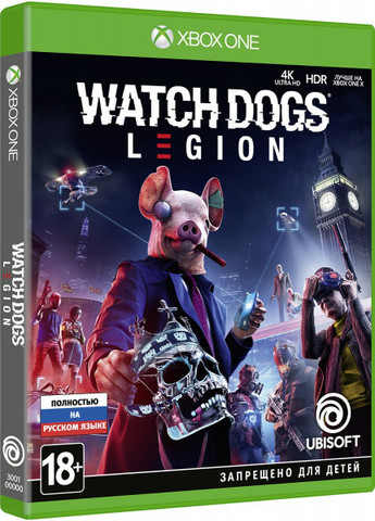 Microsoft Xbox One Watch Dogs: Legion (русская версия)