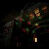 Уличная лазерная анимация X-35P Зеленый + Красный (Анимация «Новый год») (Kvimol)