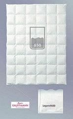 Одеяло пуховое очень легкое 155х200 Kauffmann Legend 650