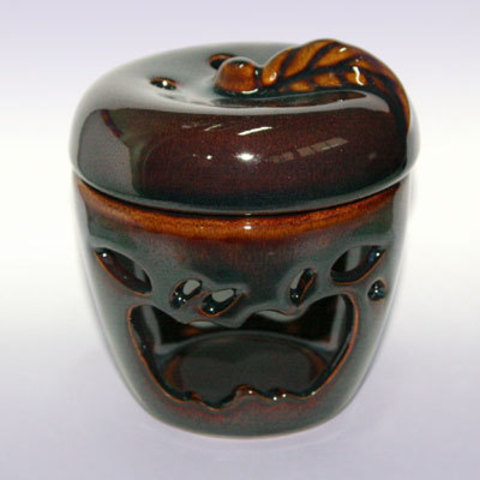 Аромалампа керамика Яблоко