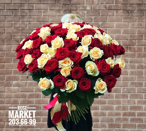 81 роза 70 см #2060