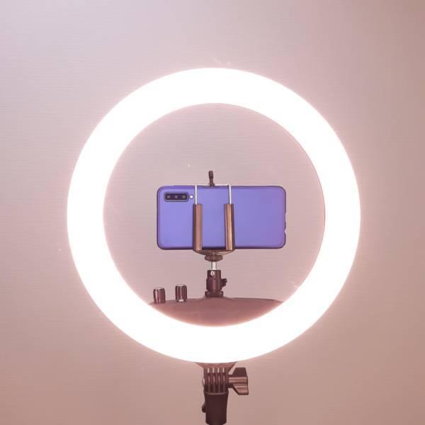 Кольцевая лампа LED RING RC240 (35 см) фото