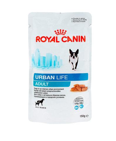 Royal Canin Urban Life Adult пауч для собак, живущих в городских условиях в соусе 150 г
