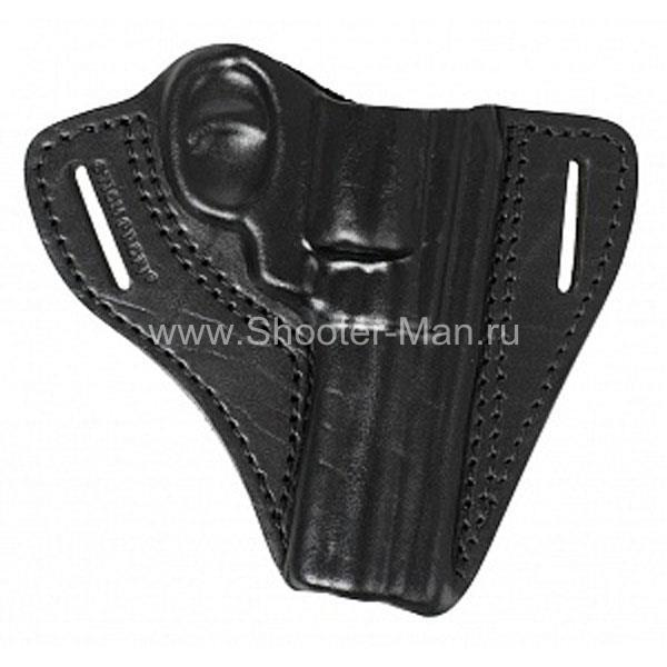 Кобура кожаная для револьвера Гроза Р-04 ( модель № 1 ) Стич Профи