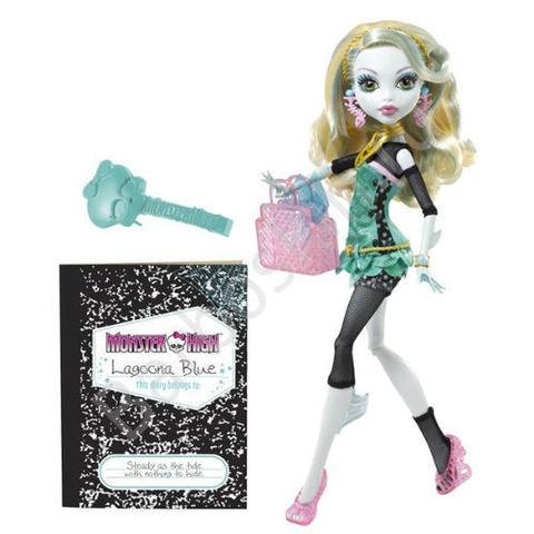 Кукла Monster High Лагуна Блю (Lagoona Blue) - Выпускники (School's Out), Mattel