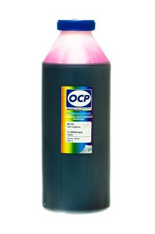 Чернила OCP LM 141 Light Magenta для Epson T50/T59/P50/TX800/TX700/TX650/RX610, 1000 мл
