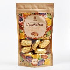 Конфеты Фрутодень Сибирский кедр с кедровыми орешками в шоколадной глазури 200 гр